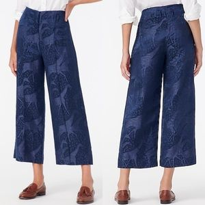 J.Crew Linen-silk Cropped Pants